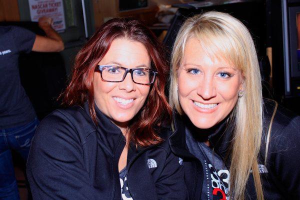 Melissa D and Becka at Crow Bar