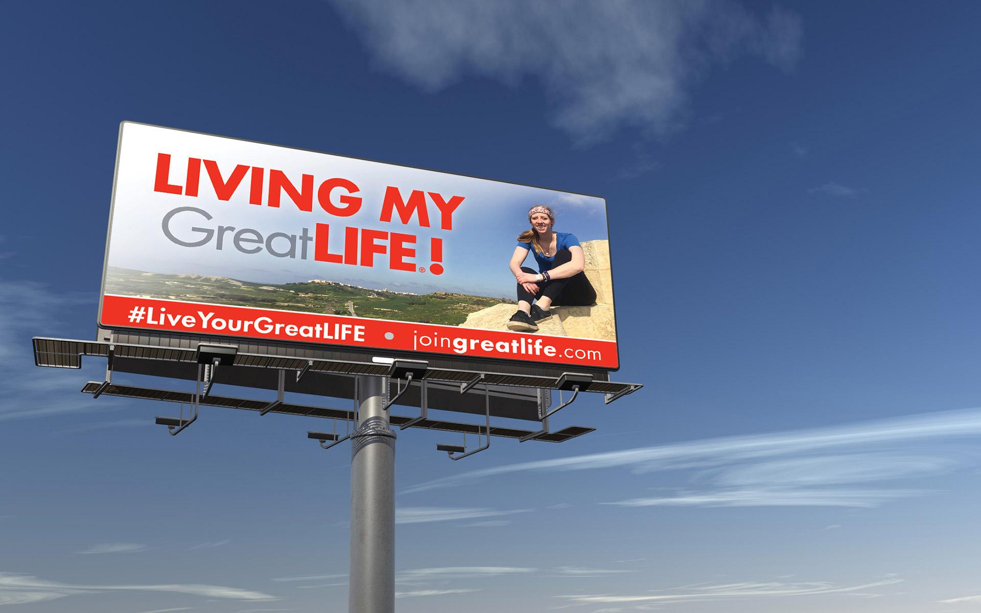 GreatLIFE Billboard