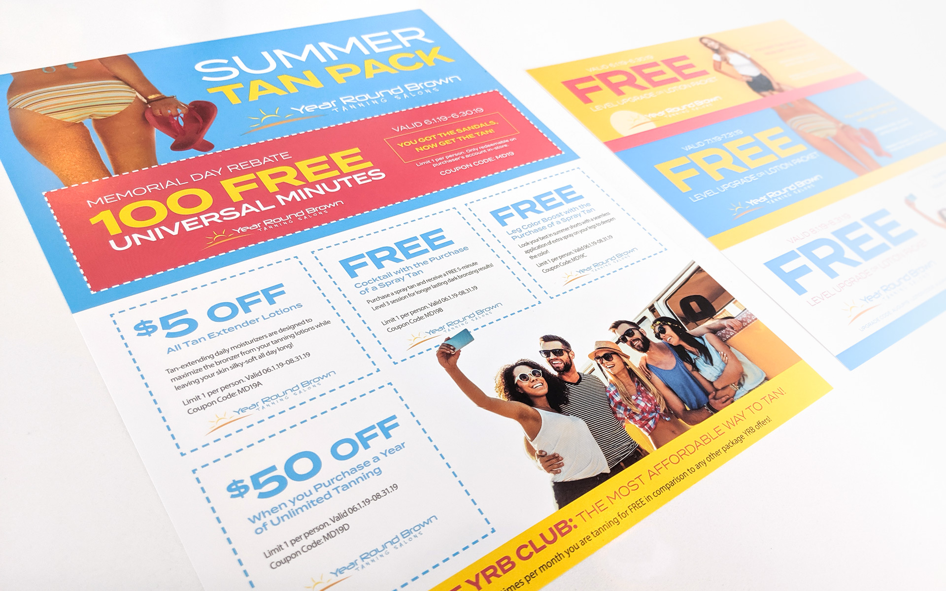 Year Round Brown Promotional Graphics