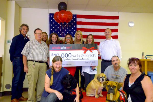 Big Paws Canine Foundation Website Winner from HenkinSchultz