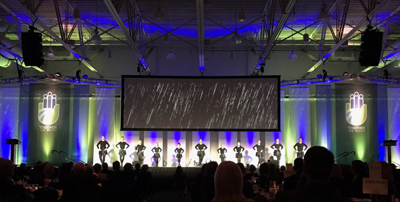 Dancers at the Chamber Annual Dinner