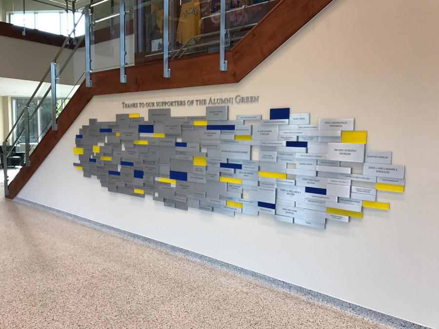 SDSU donor wall