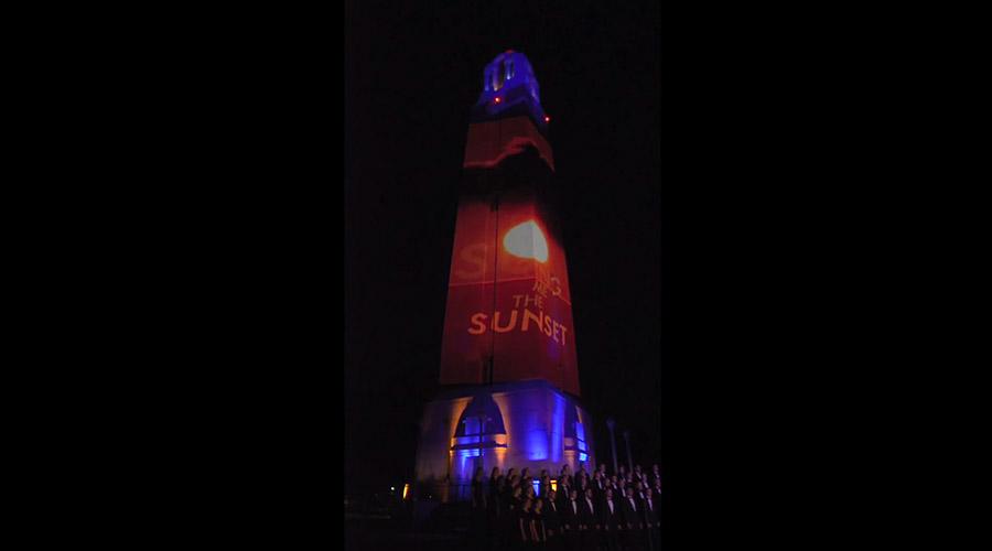 SDSU Sunset video