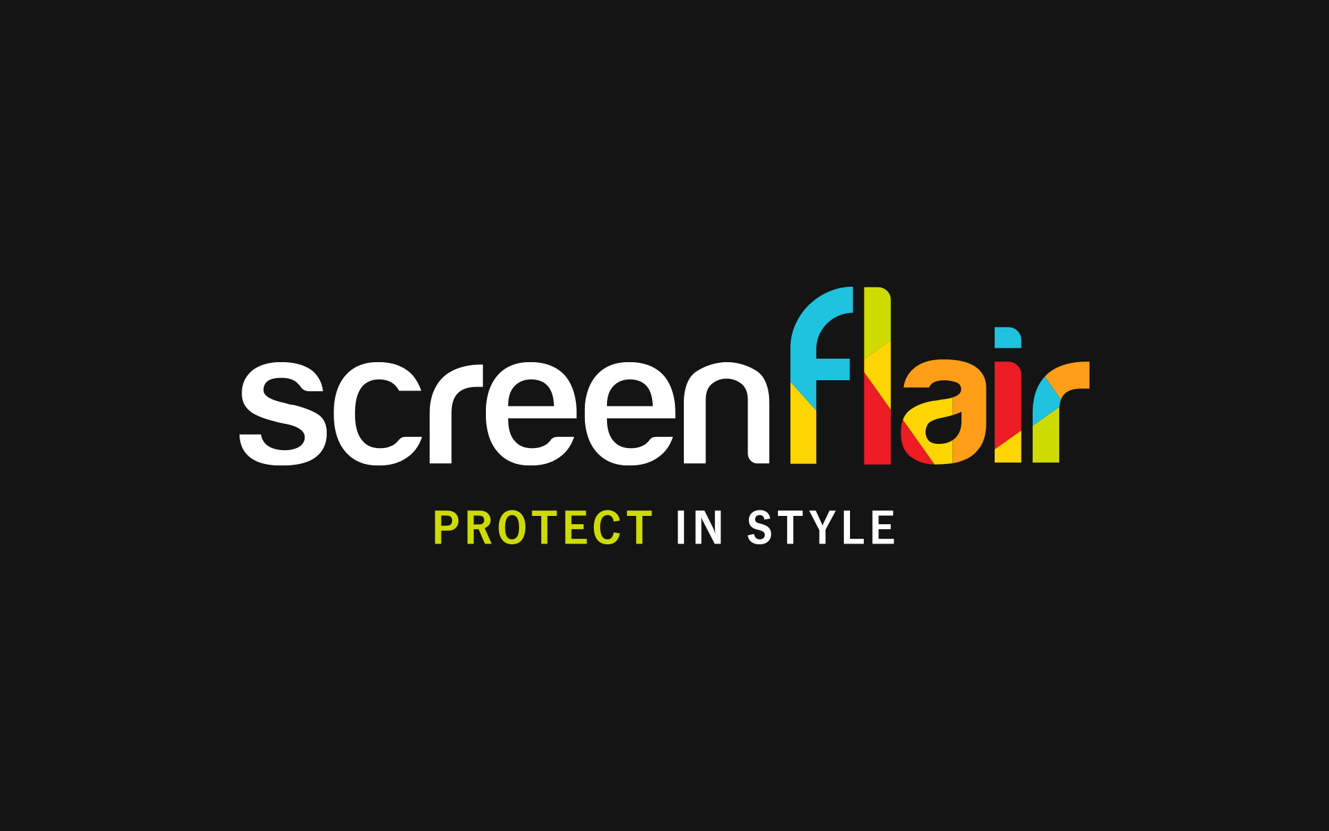 Screenflair on desktop and mobil devices
