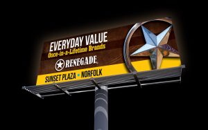 renegade billboard - everyday value