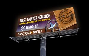 renegade billboard - most wanted