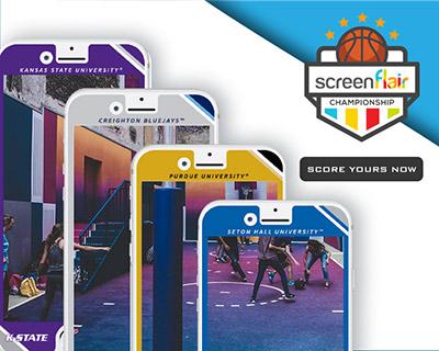 basketball graphics - Screenflair on Phones
