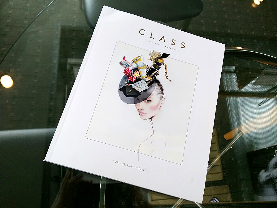 CLASS printed magazine complements the magazine website
