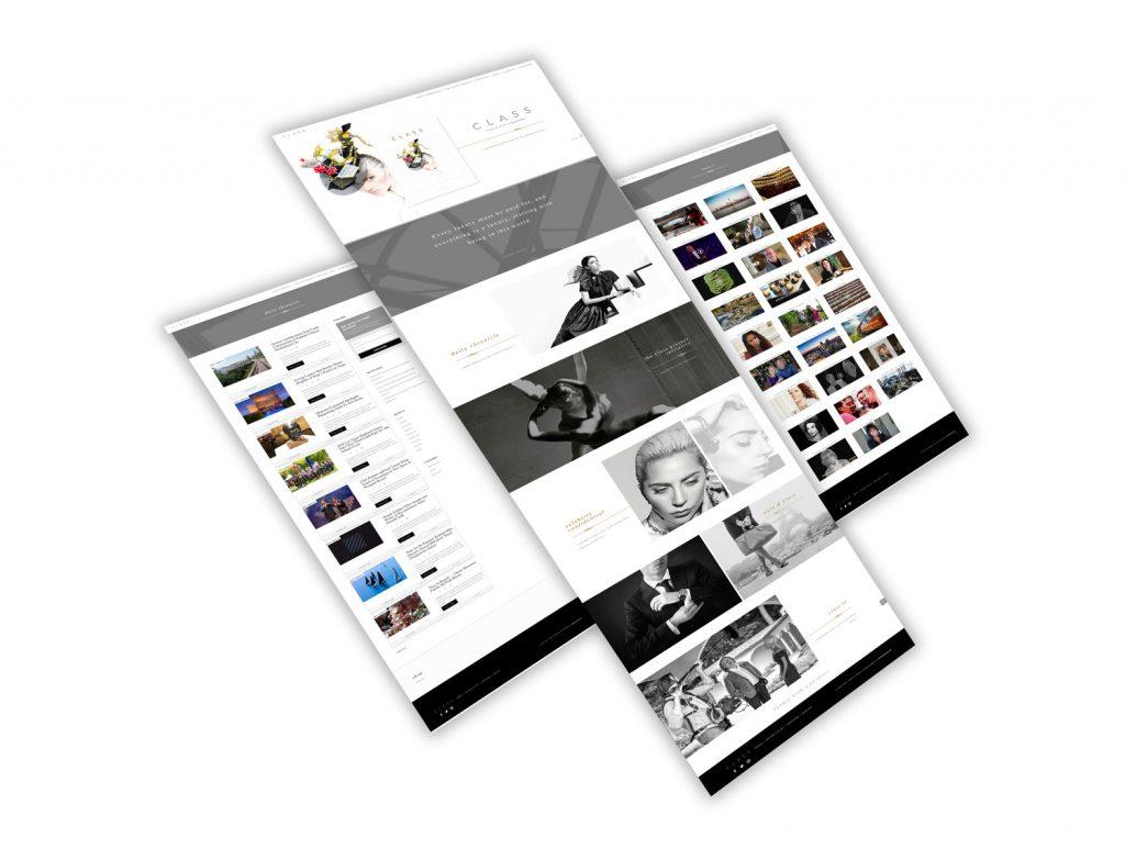 TheClassProject.com: magazine website