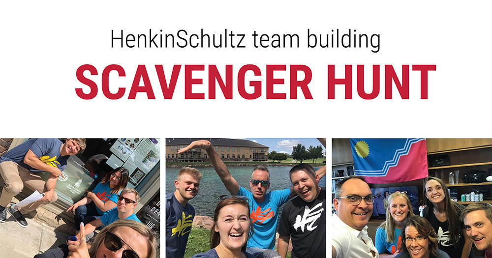 HenkinSchultz team building scavenger hunt