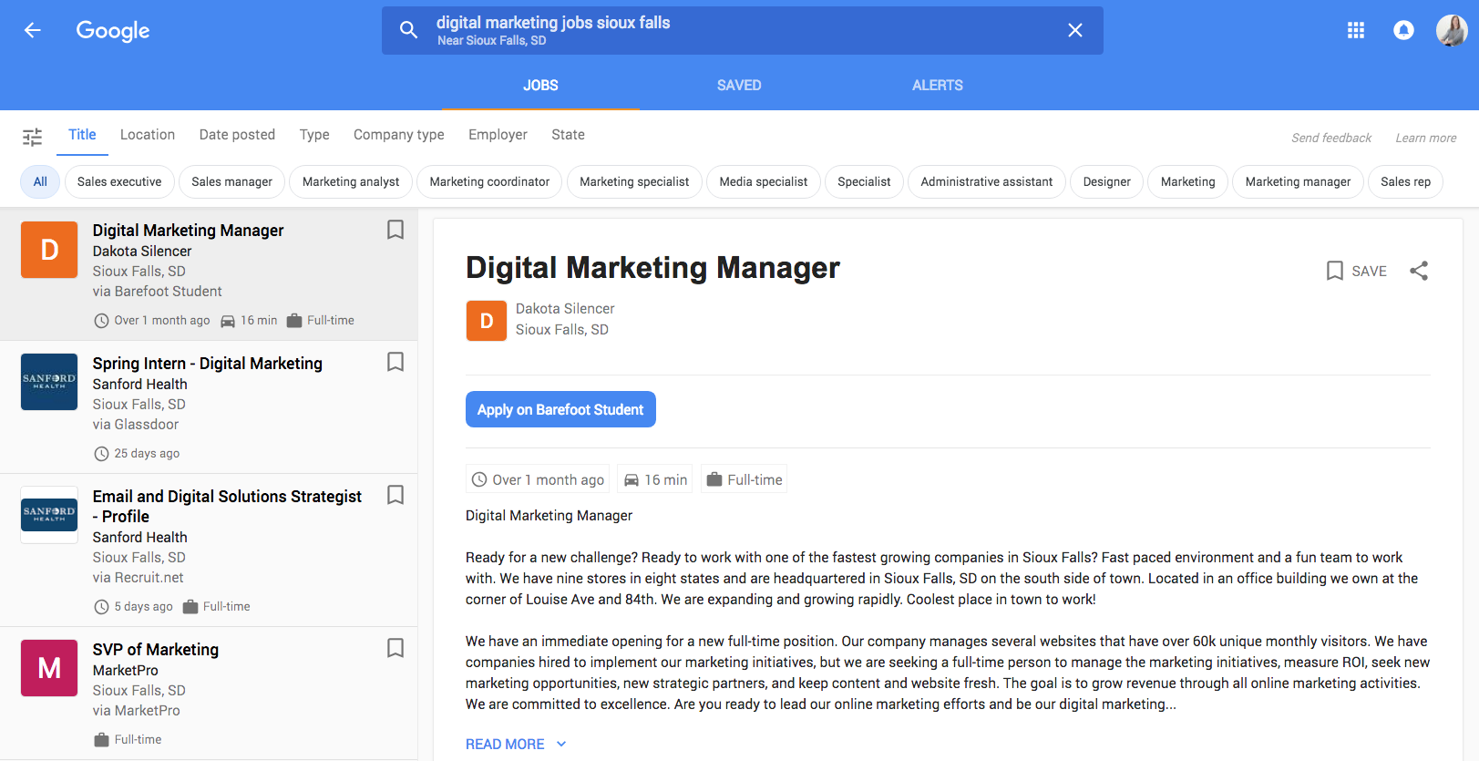 Google Jobs is a great way to post open positions for your business
