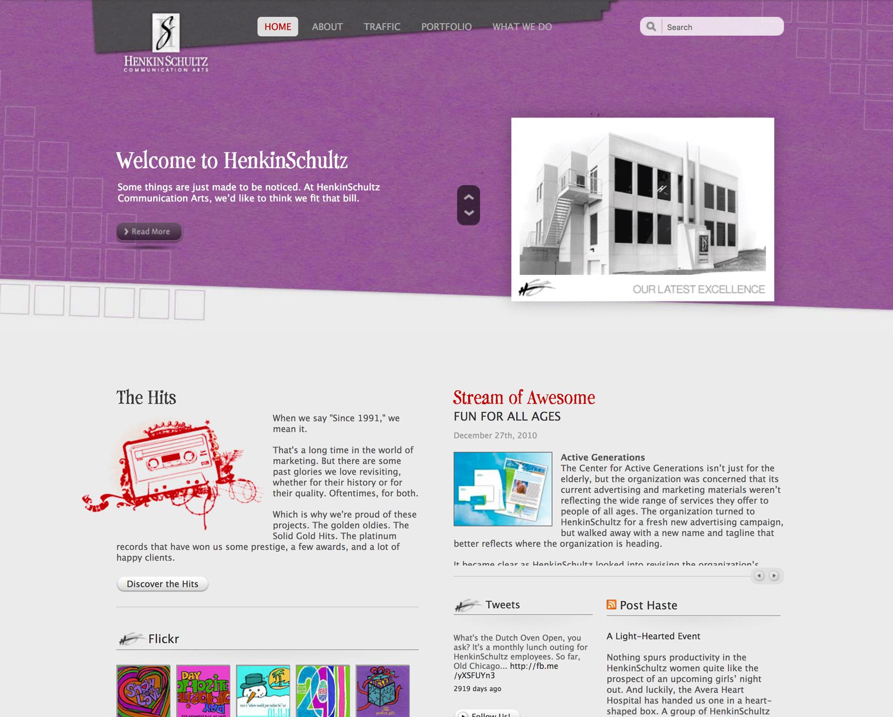 henkinschultz.com in 2011