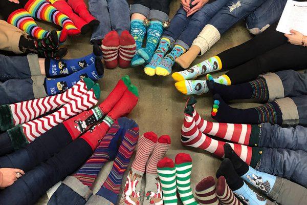 HS socks & feet