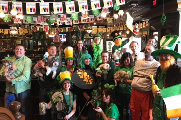 St. Patrick's Day at McNally's Irish Pub - Pup Crawl
