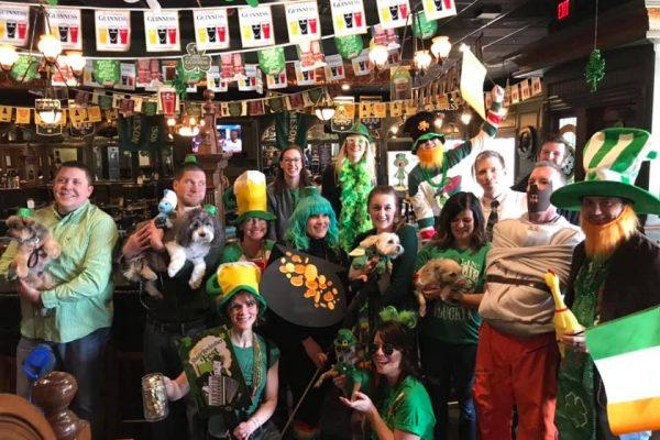 St. Patrick's Day at McNally's Irish Pub - Pup Crawl