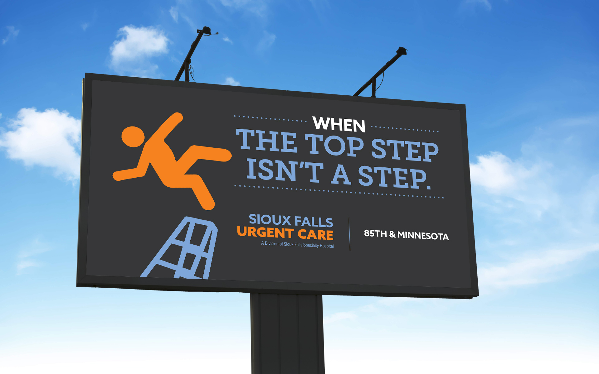 Sioux Falls Urgent Care Billboard