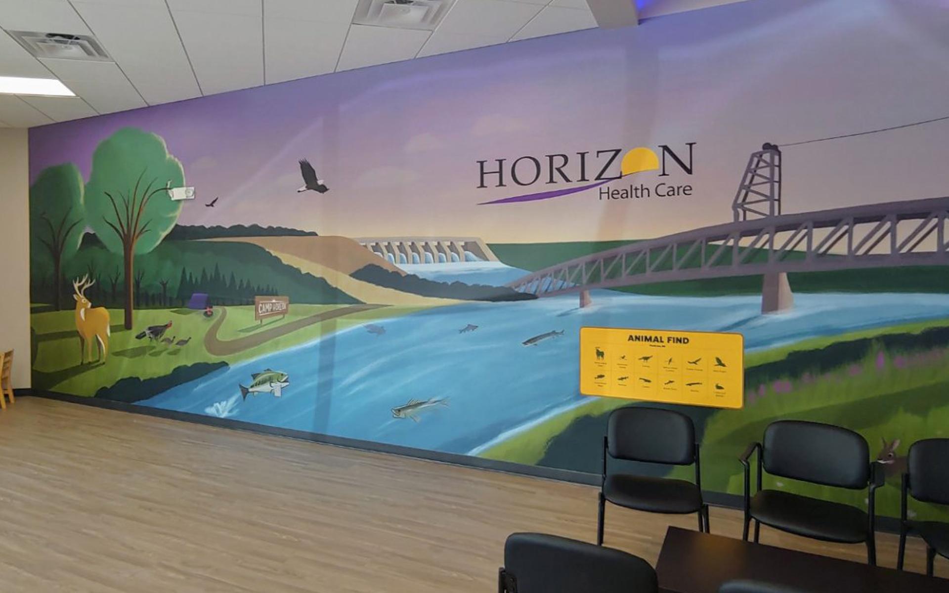 Horizon Healthcare mural