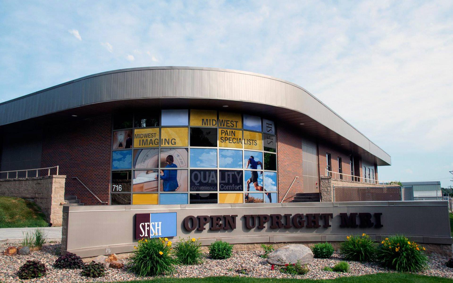 Signage SFSH - Open Upright MRI