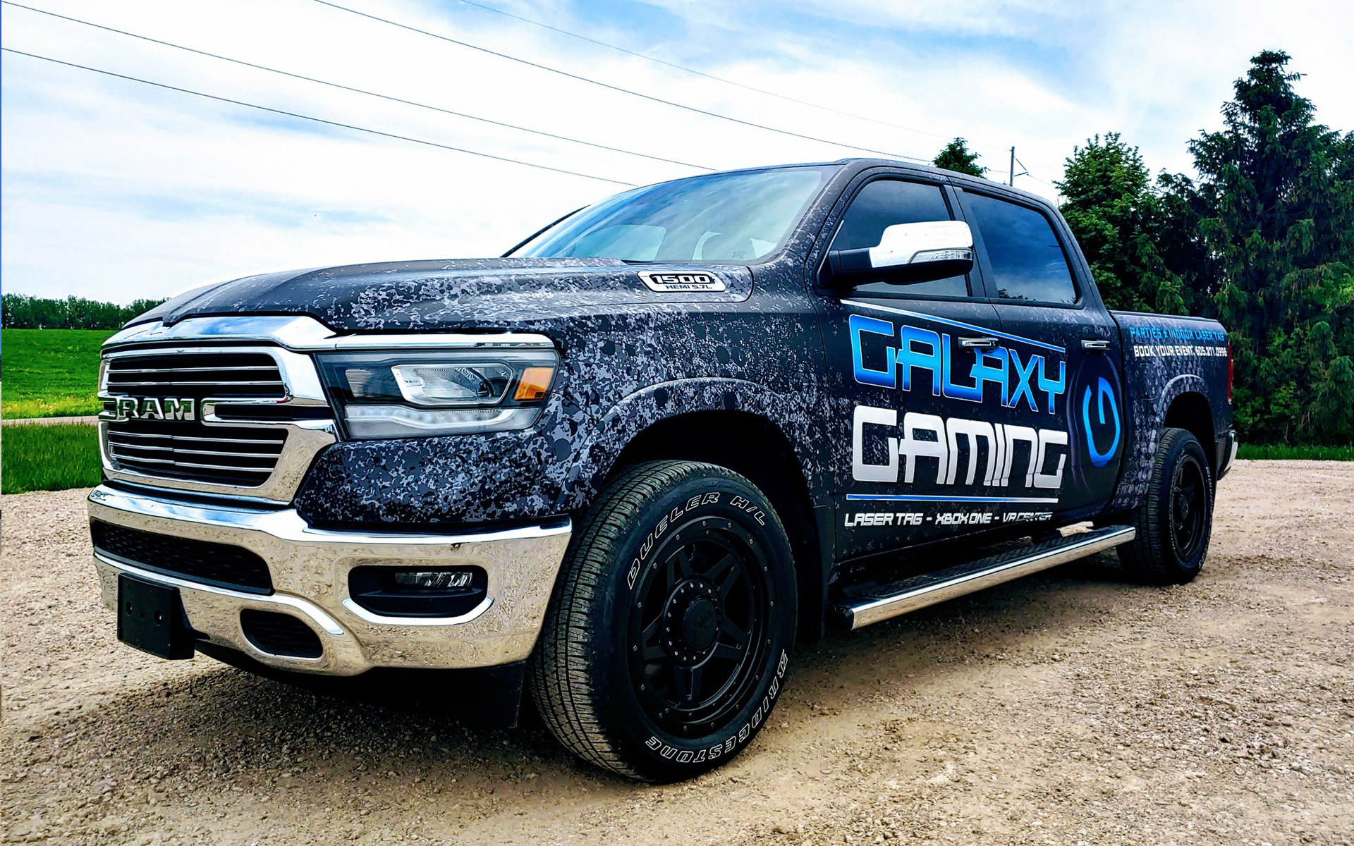 Vehicle Wrap - Galaxy Gaming in Sioux Falls