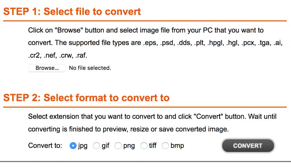 convert Adobe files