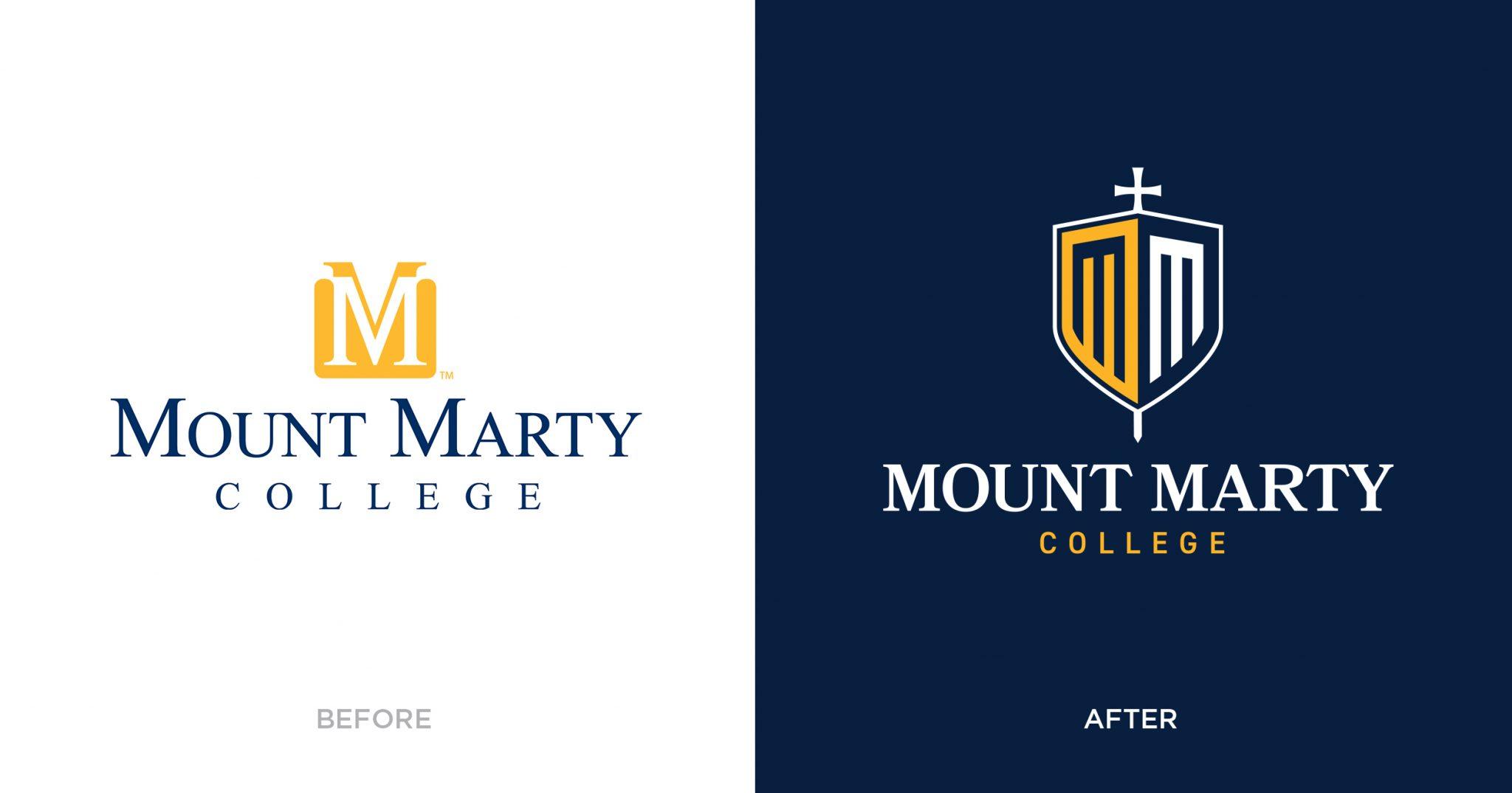Mount Marty rebrand