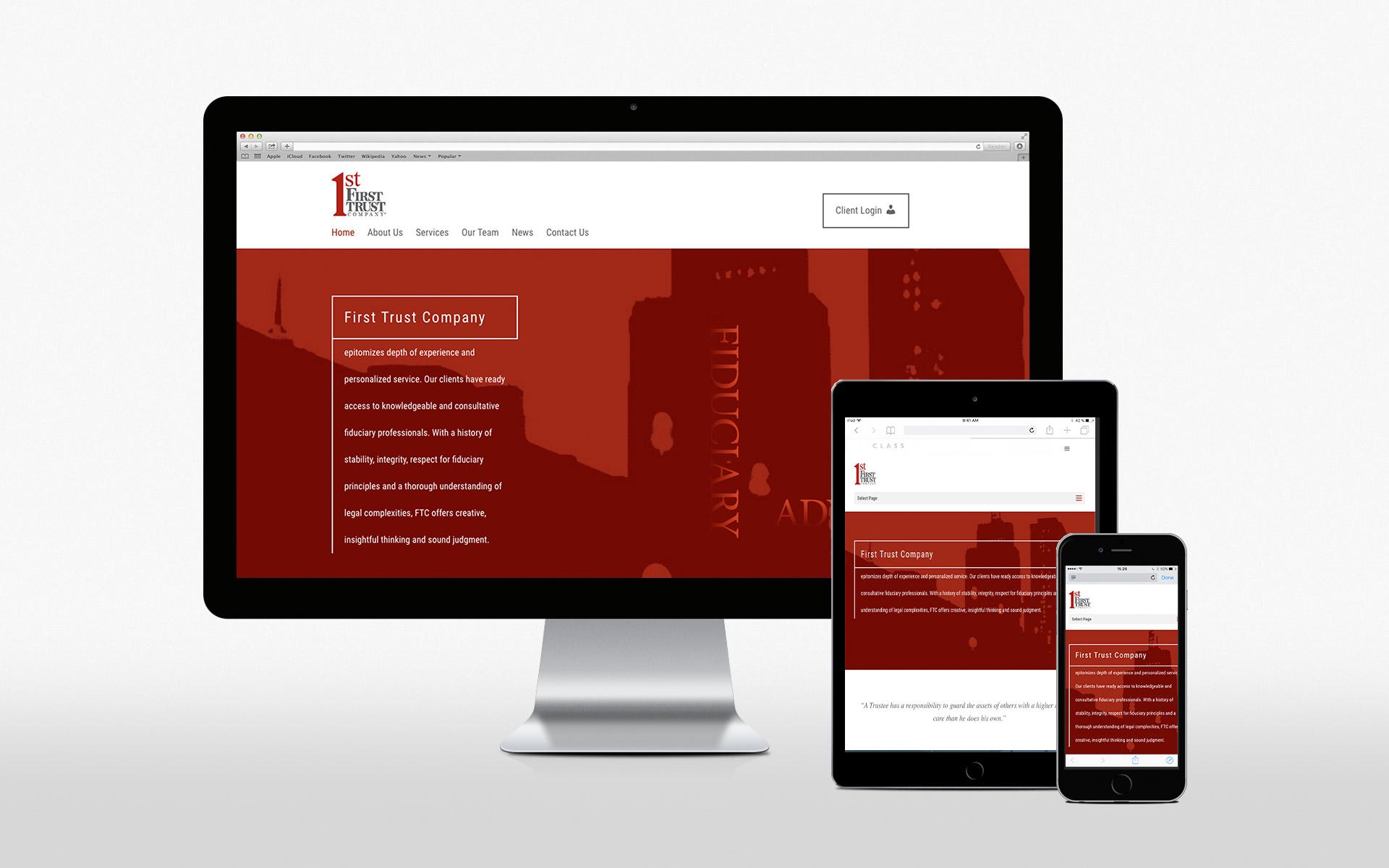 1stTrustCo website