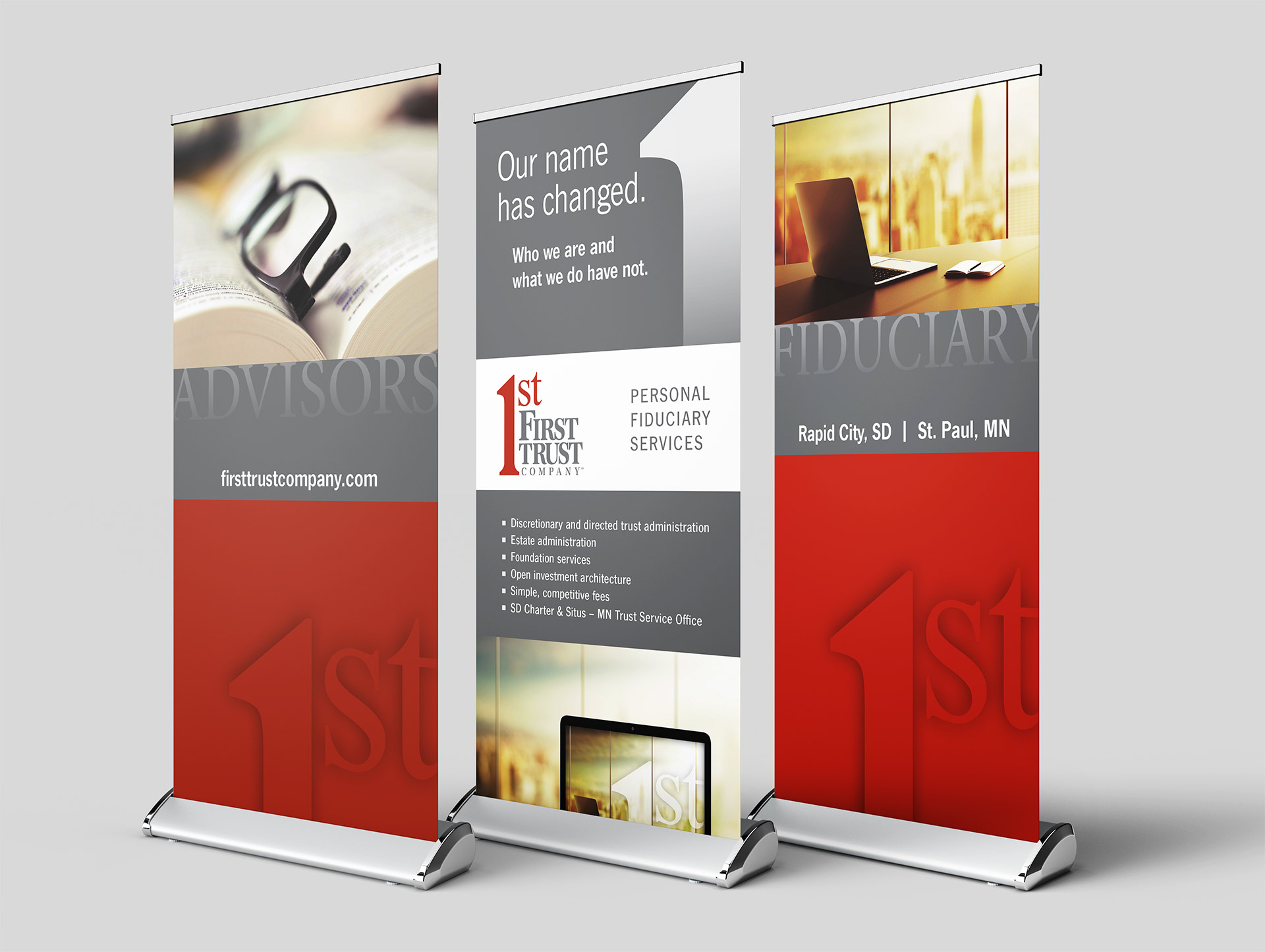 first trust banners
