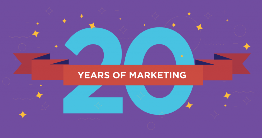 20 years of marketing
