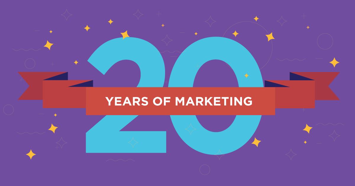 20 years of marketing