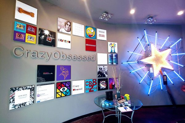 Crazy Obsessed Wall