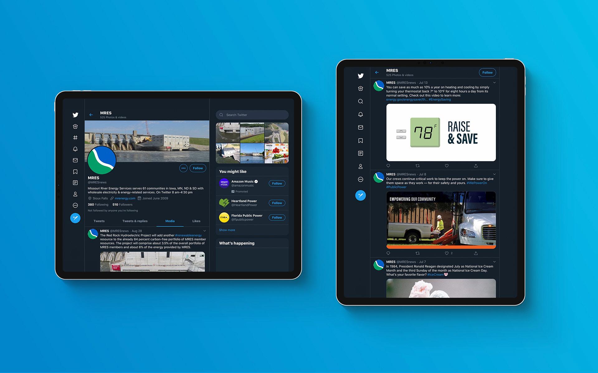 MRES on iPad