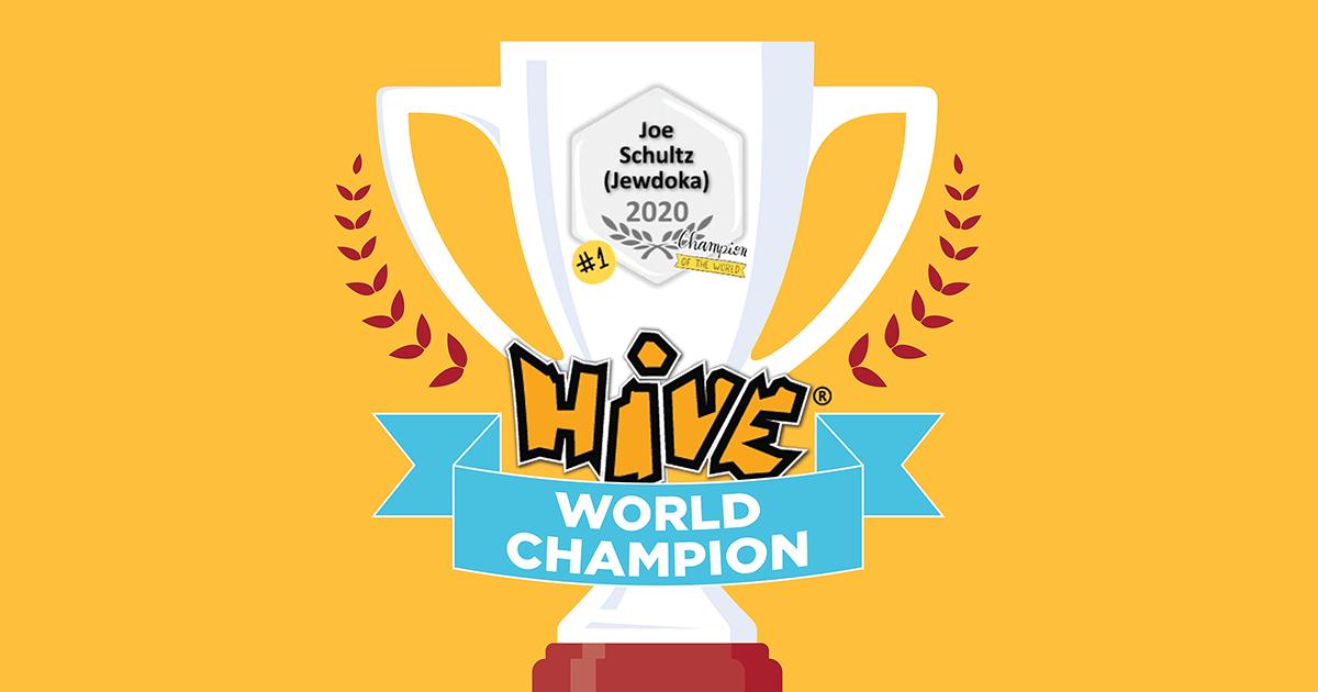 Hive World Champ blog image