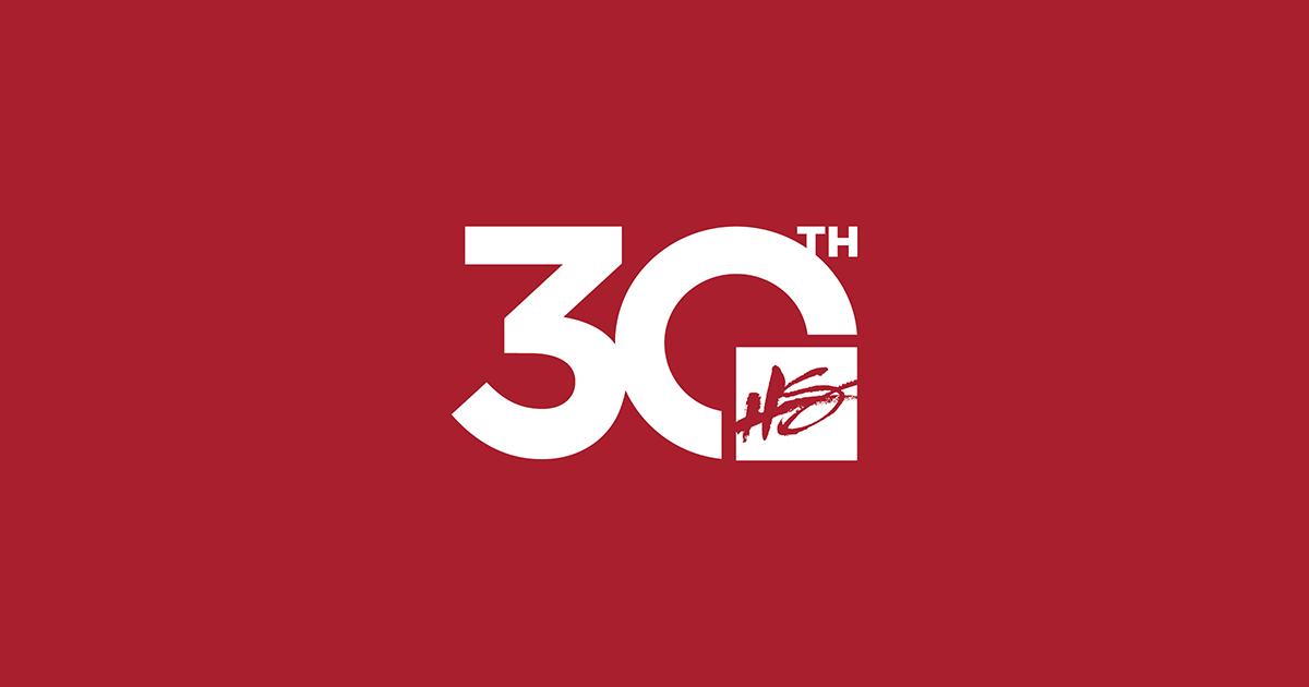 30th anniversary HS