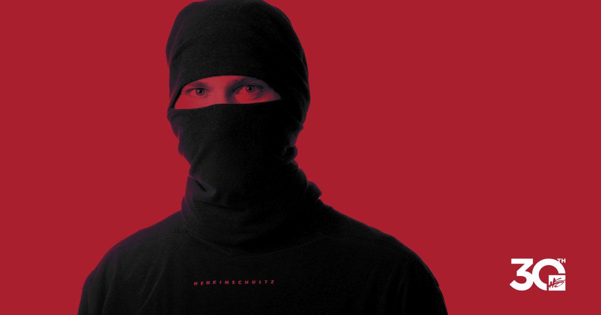 Joey Schultz dressed as ninja